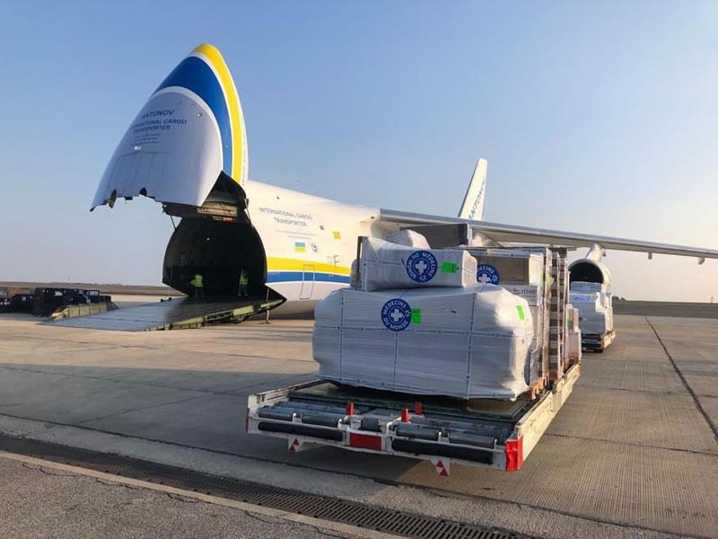 """Авиалинии Антонова"" помогли Мозамбику после циклона"