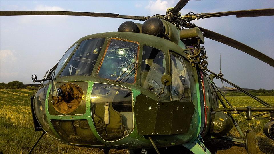 Легендарный борт №90: подбитый на Донбассе вертолет снова в строю