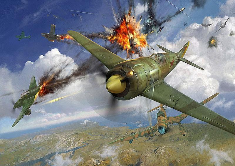 """В Государственном музее авиации  установили авиасимулятор """"Воздушный бой"""""""