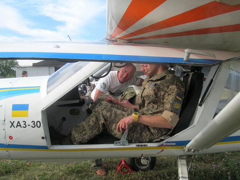 7 лет назад состоялся первый демонстрационный полет легкомоторного самолета ХАЗ-30