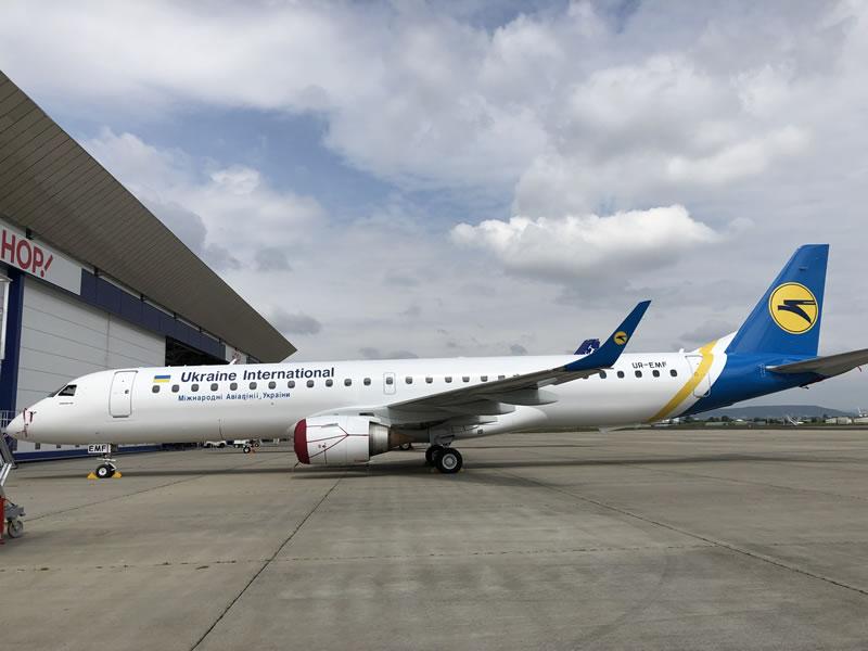 Второй Embraer 195 пополнил парк МАУ