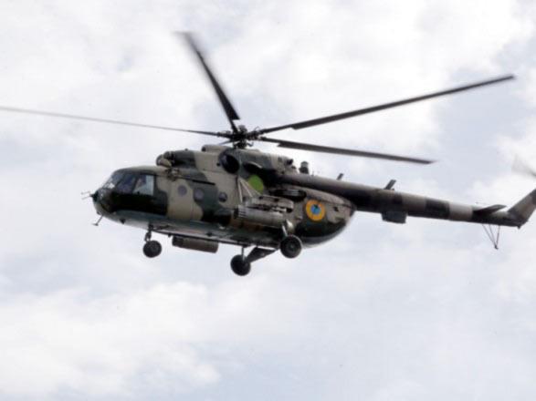В Ровенской области разбился вертолет Ми-8