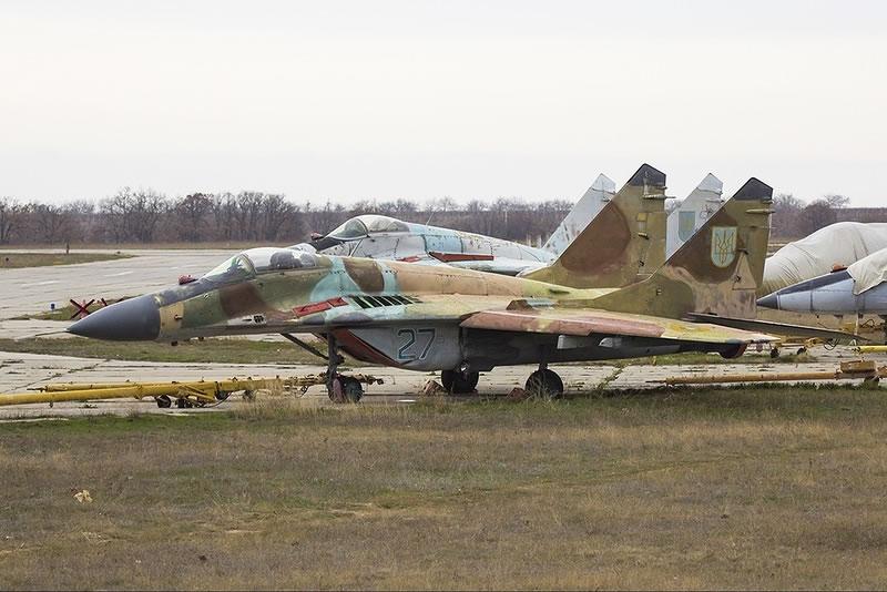 В оккупированном Крыму уничтожили украинские самолеты