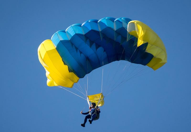 В Аскании-Нова проведут мастер-классы по парашютному спорту