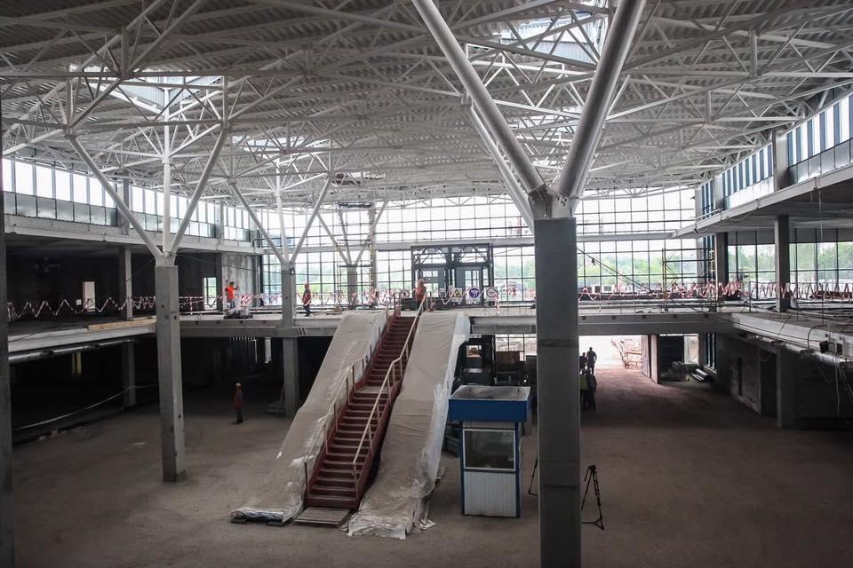 Аэропорт Запорожье планирует строительство новой ВПП