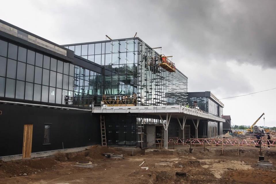 Минфин не дает завершить новый терминал в Запорожье
