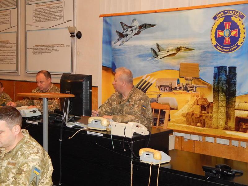 В Воздушном командовании