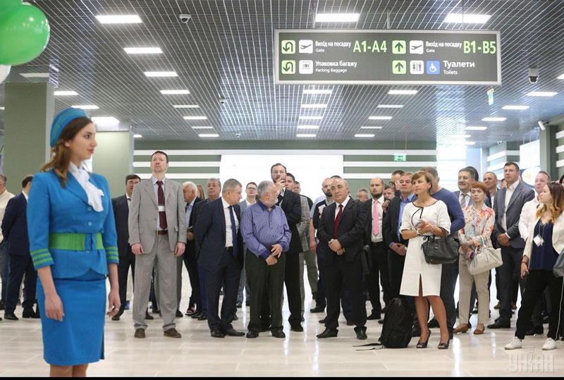 """Аэропорт """"Киев"""" открыл обновленный терминал"""