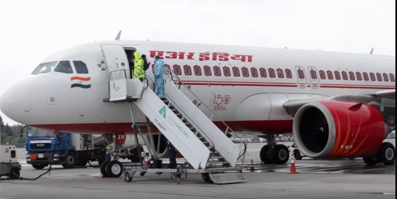 «Борисполь» впервые принял самолет авиакомпании Air India