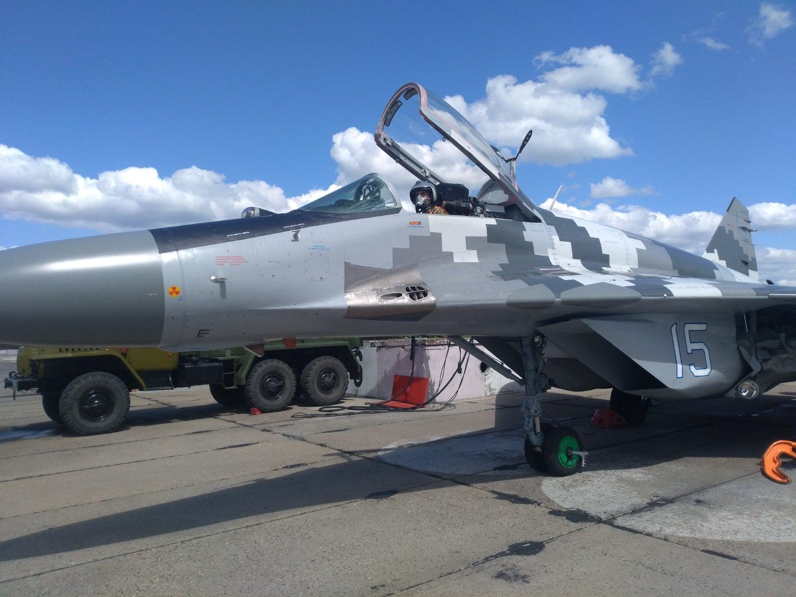 Курсанты выполнили первые самостоятельные полеты на МиГ-29