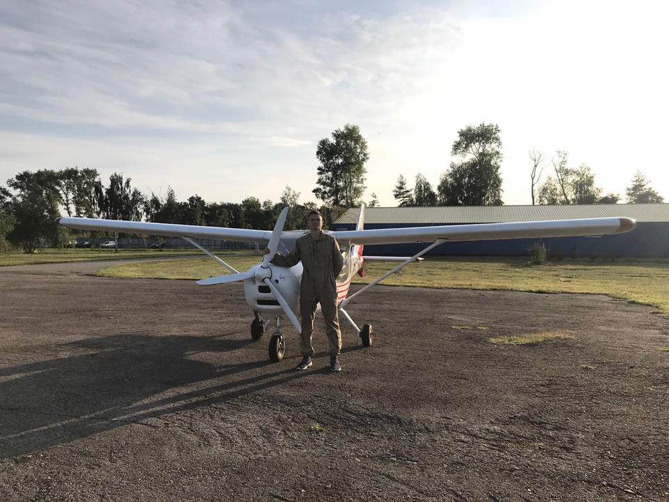 Студенты НАУ получили пилотские свидетельства