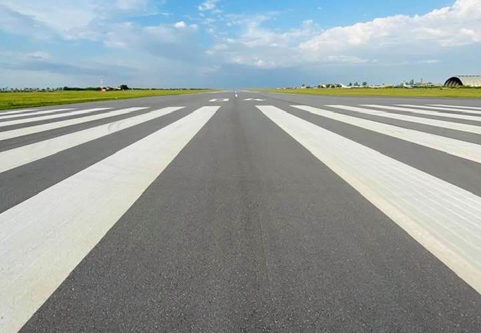 Полоса николаевского аэропорта сейчас