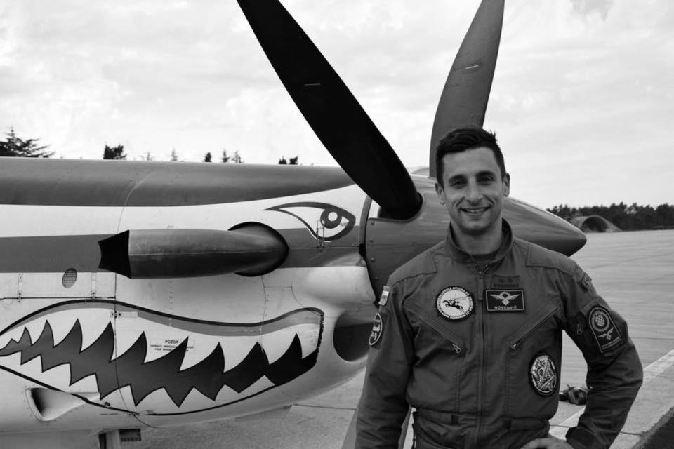 В Хорватии разбился учебный самолет ВВС