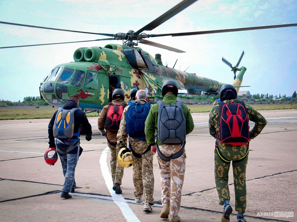 Продлены сборы поисково-спасательной и парашютно-десантной служб