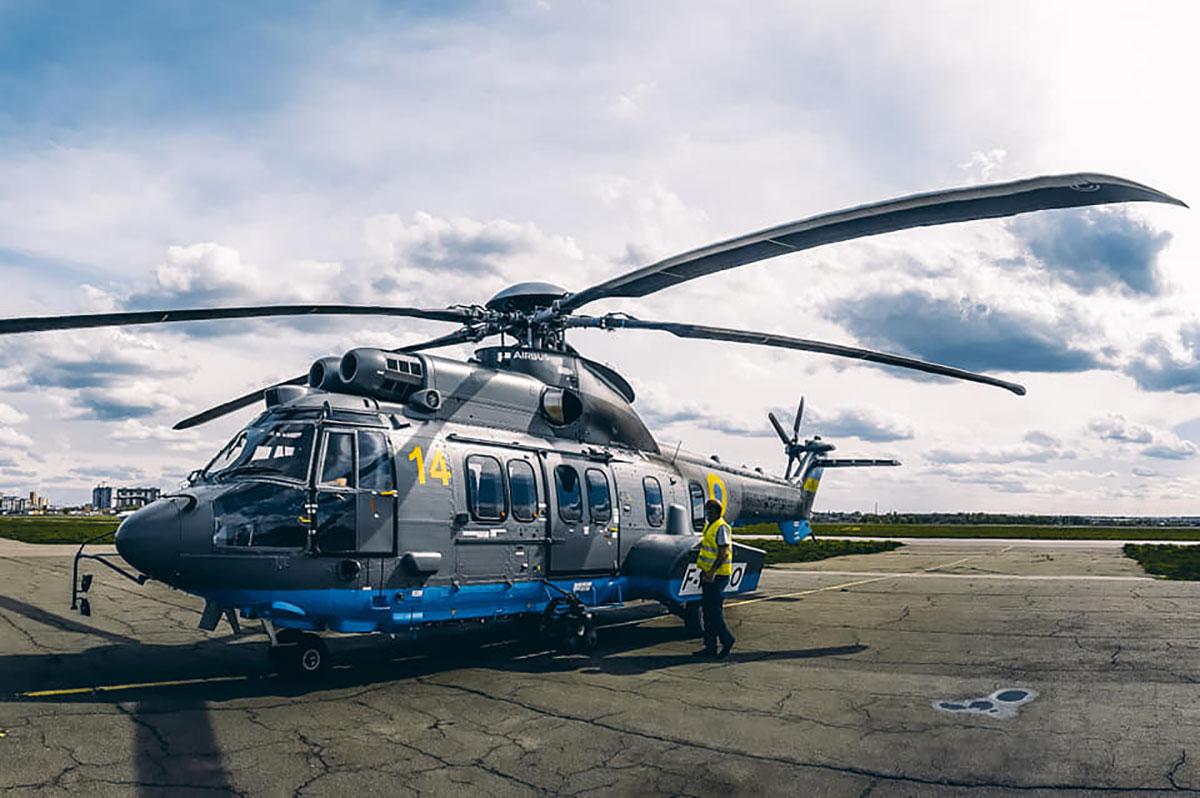 Нацгвардия получила 3-й вертолет Airbus Н225