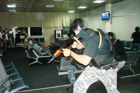 В аэропорту «Борисполь» проведены учения по предупреждению террористических актов