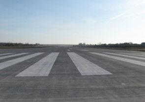 Во Львове завершили бетонирование аэродрома