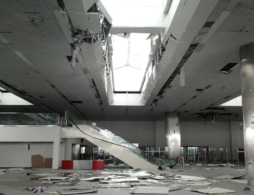 Опубликованы фото, как выглядит донецкий аэропорт сегодня