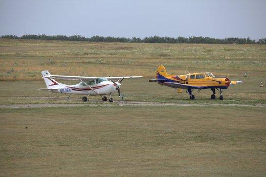 В Одессе летчики-ассы показали захватывающее авиашоу