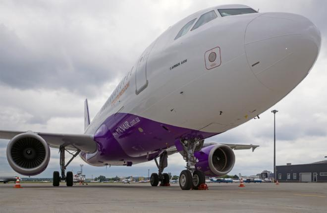 YanAir получила первый Airbus A321