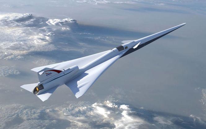 В NASA показали, как будет выглядеть новый сверхзвуковой самолет