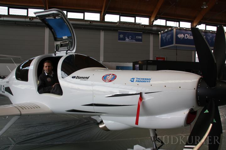 """""""Мотор Сич"""" поставит в Австрию двигатели для самолета DA-50"""