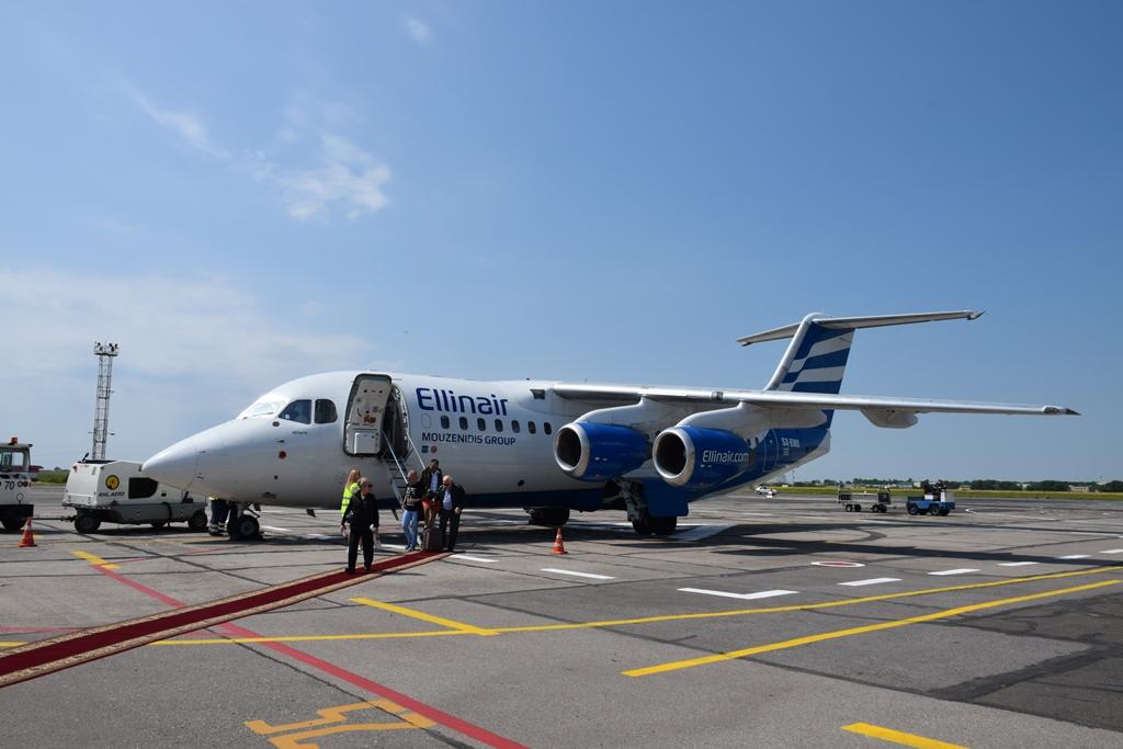 Греческая авиакомпания Ellinair возобновила прямые авиарейсы в Одессу