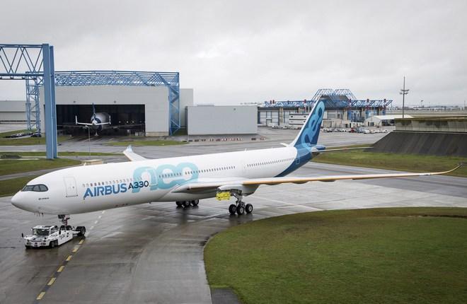 Первый полет Airbus A330neo ожидается в конце лета