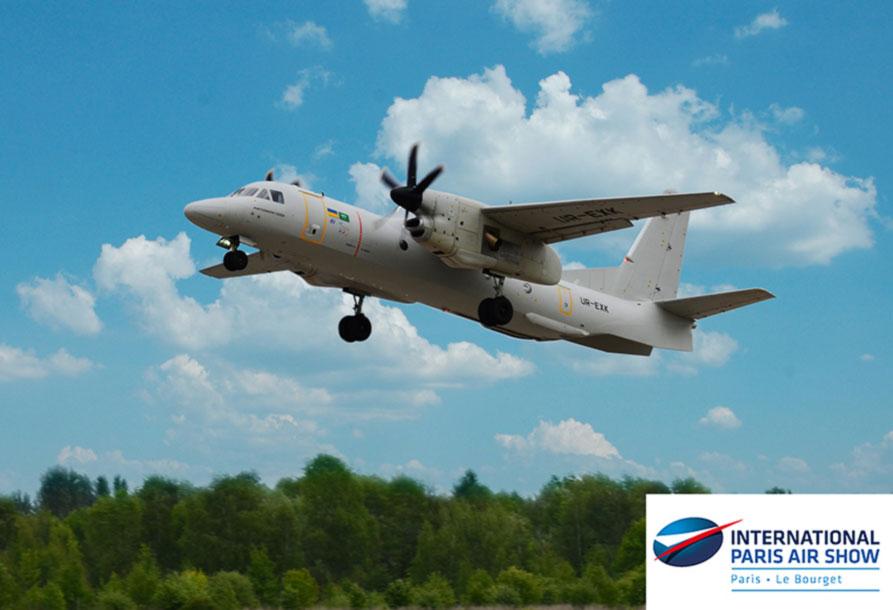 Ан-132Д перелетел во Францию, где примет участие в Парижском авиашоу