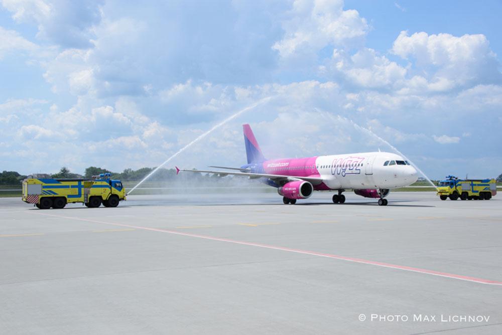 Wizz Air начала выполнять рейсы по новому лоу-кост маршруту из Львова в Берлин