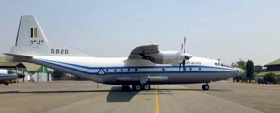 Падение военного самолета Мьянмы. Выживших нет.