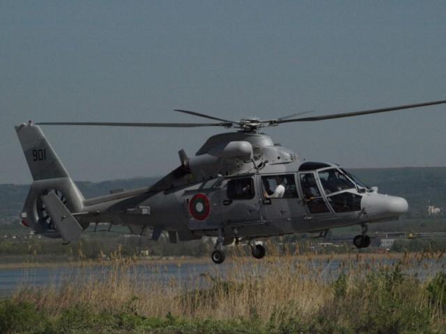 В Черном море потерпел катастрофу болгарский военный вертолет