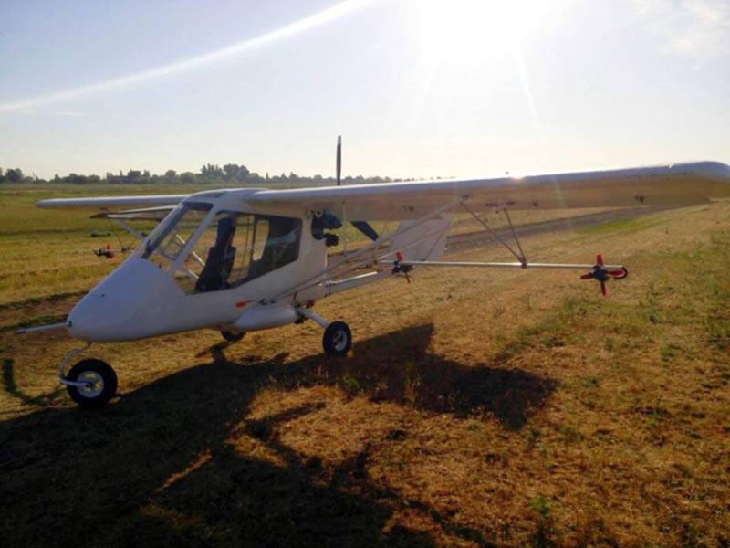 В зоне ООС задержали легкий самолет