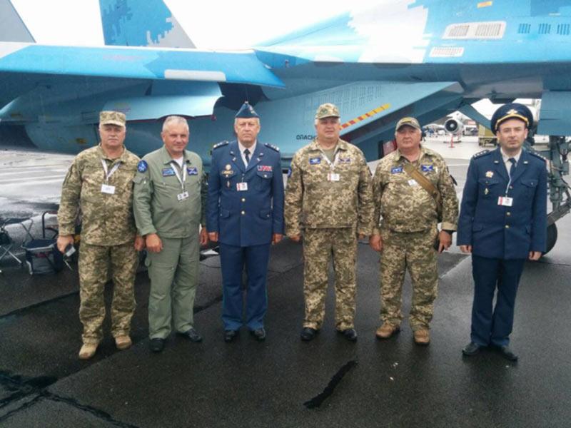 Из Дании возвращаются украинские воздушные «асы»