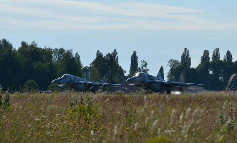 В Воздушных Силах проходили тренировки по ПВО (фото)