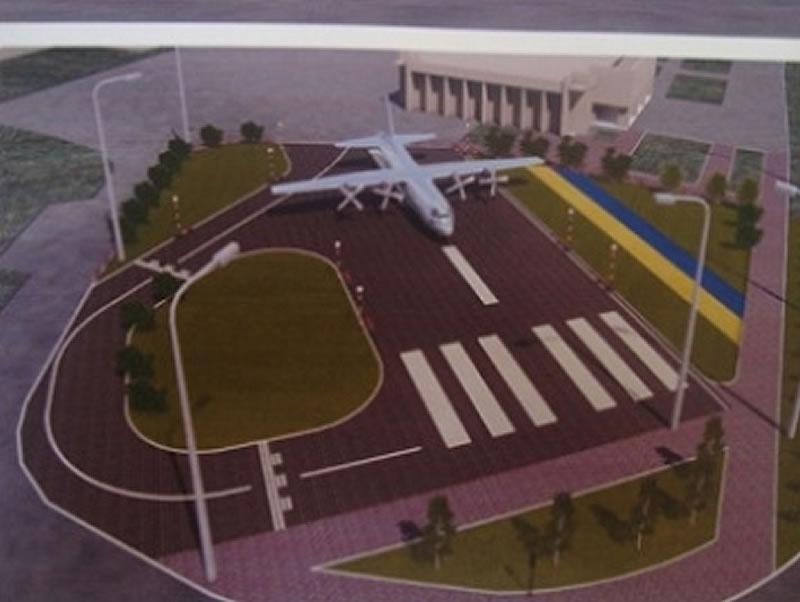 Самолет Ан-26Ш, который должен стать памятником в Мелитополе, разберут и доставят за 597 тысяч гривен
