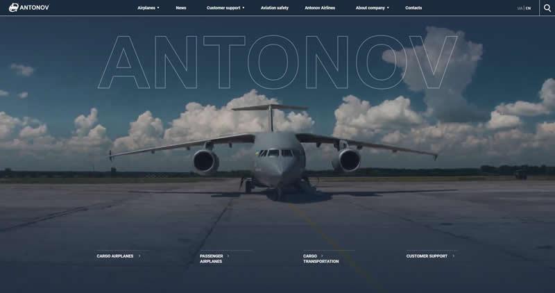 """Новый сайт ГП """"Антонов"""""""