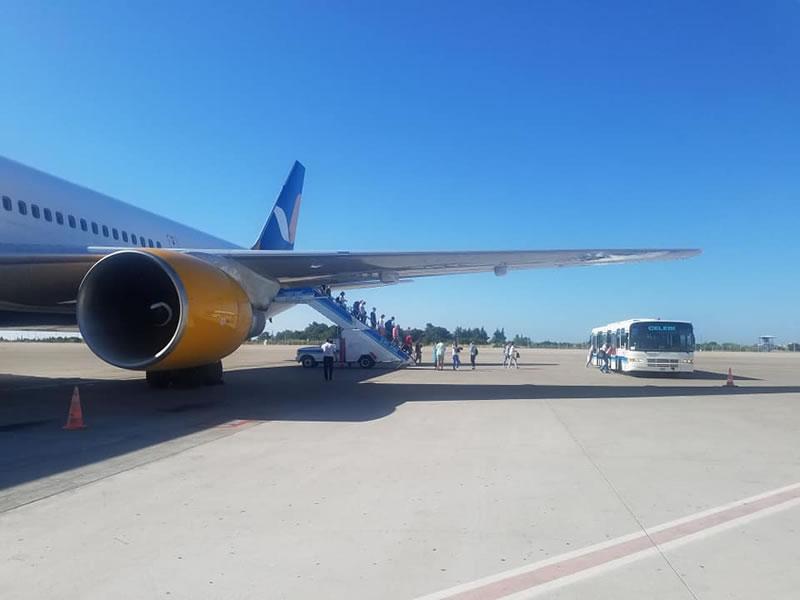 Самолет Azur Air совершил вынужденную посадку в Анталии