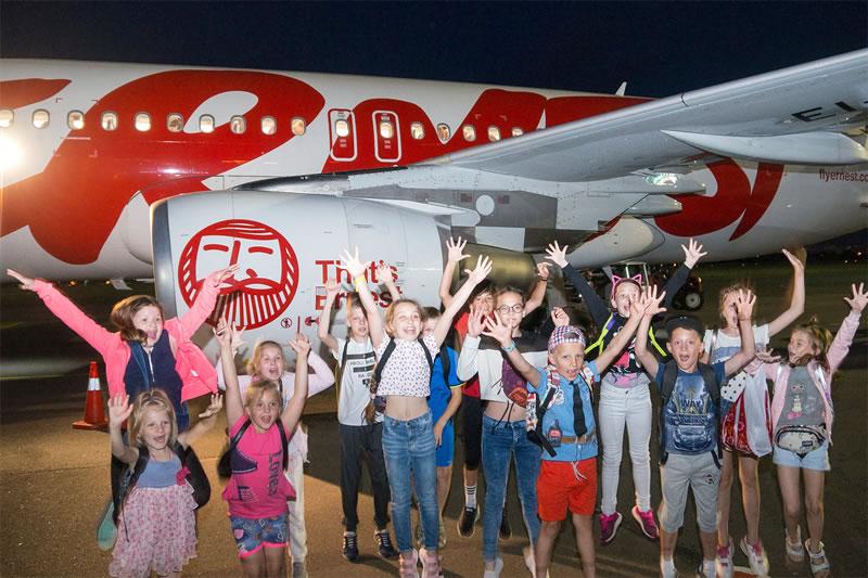 Авиакомпания Ernest Airlines перевезла детей Чернобыля в Италию