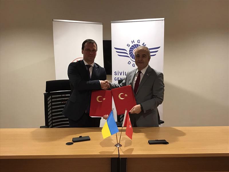 Украина и Турция подписали меморандум по безопасности авиации