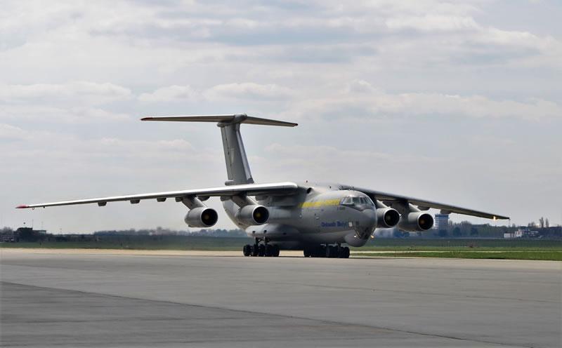 Украинский Ил-76МД готовится к миссиям НАТО