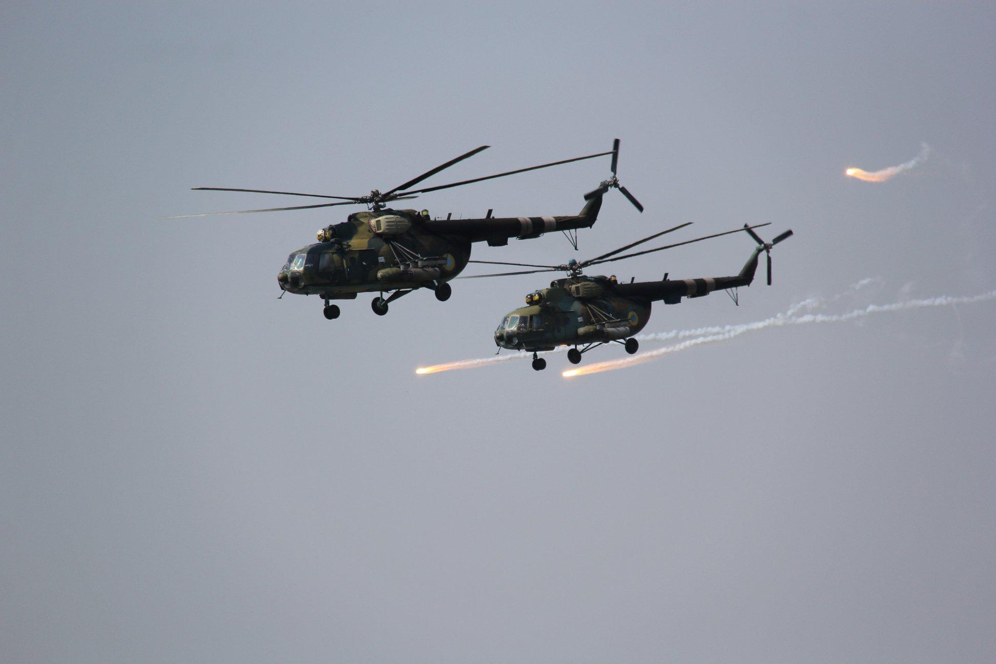 Авиация участвовала в учениях в Приазовье