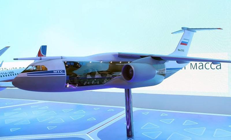 В РФ хотят создать «Летающую батарею» на базе Ан-12