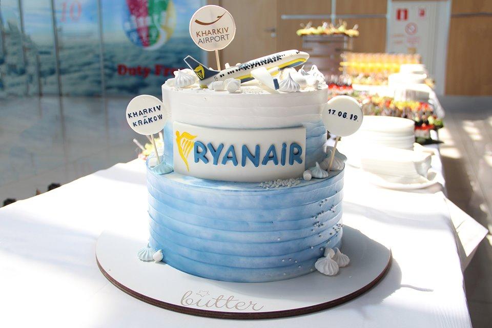 Запуск первого рейса от Ryanair Харьков-Краков