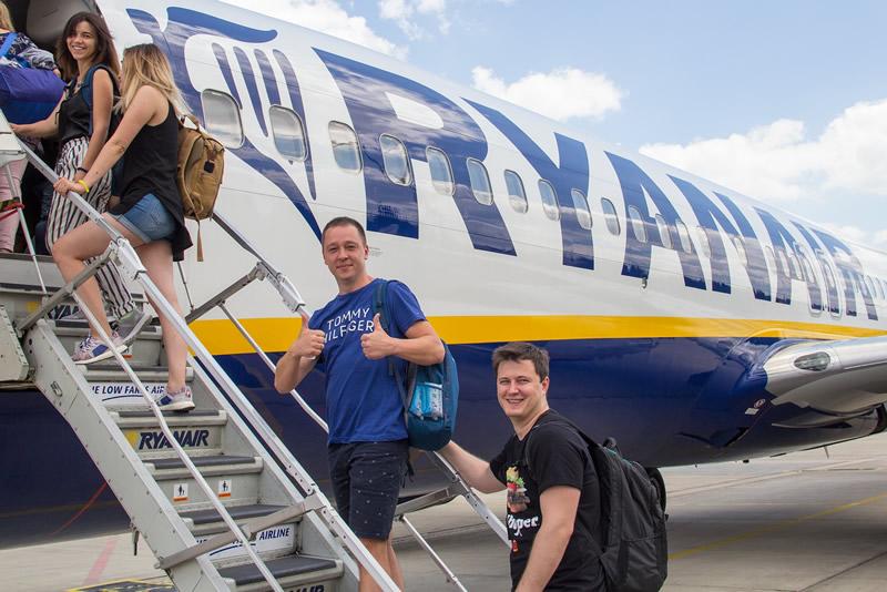 Ryanair в следующем году нарастит пассажиропоток на украинских рейсах на 33%