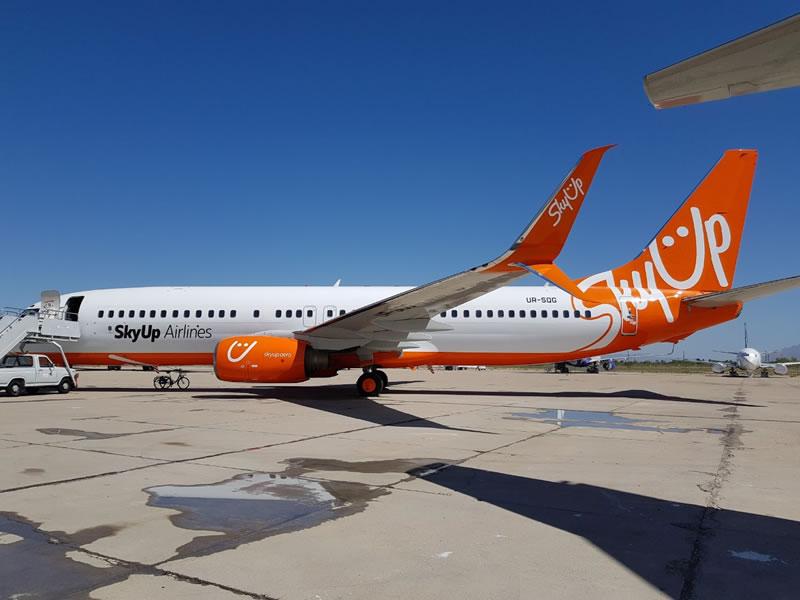SkyUp запустил продажу билетов на 6 дополнительных рейсов Киев - Харьков