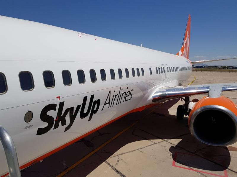 SkyUp официально сообщила об начале рейсов на Шри Ланку