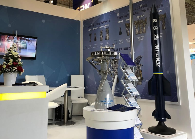 Во Франции презентуют легкую ракету-носитель Зенит-1NL