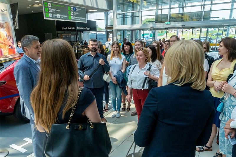 """Аэропорт """"Киев"""" и Alitalia провели мероприятие для партнеров"""