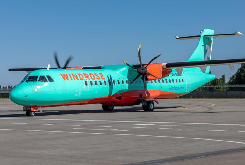 Первый ATR 72-600 Windrose